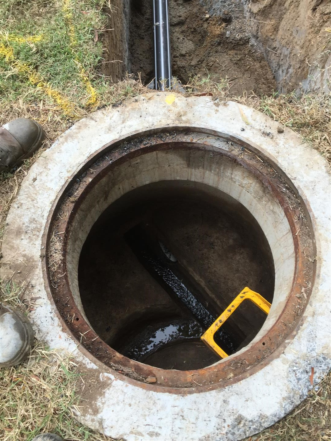 sewer man hole